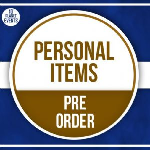 14th April Signing - Personal Items - Pre Order